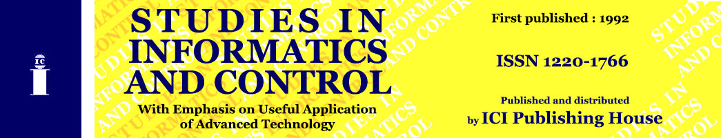 Studies in Informatics & Control
