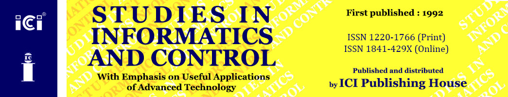 Studies in Informatics & Control